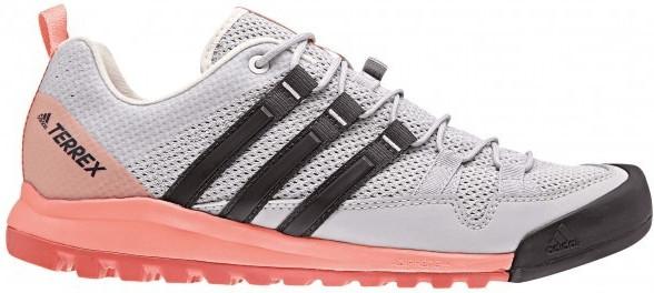Adidas Terrex Solo W grey two/carbon/chalk coral