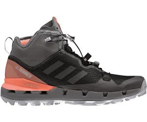 adidas Women's Terrex Fast Mid GTX Surround Schuh core blackgrey fivechalk coral AH2250