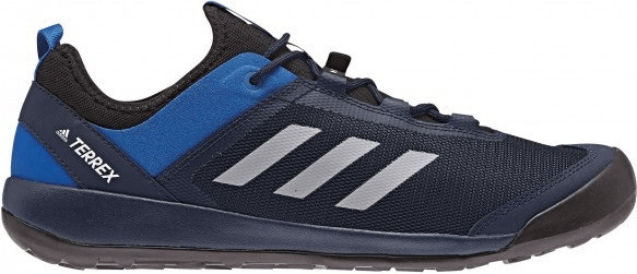 Image of Adidas Terrex Swift Solo collegiate navy/grey three/blue beauty