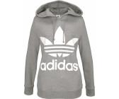 Adidas Originals Trefoil Hoodie Damen medium grey heather