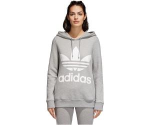 promo codes top design elegant shoes Buy Adidas Originals Trefoil Hoodie Women medium grey ...