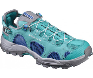 Salomon Techamphibian 3 Blau-Grau, Damen Freizeitschuh, Größe EU 39 1/3 - Farbe Stormy Weather-Eggshell Blue-Black Damen Freizeitschuh, Stormy Weather - Eggshell Blue - Black, Größe 39 1/3 - Blau-Grau