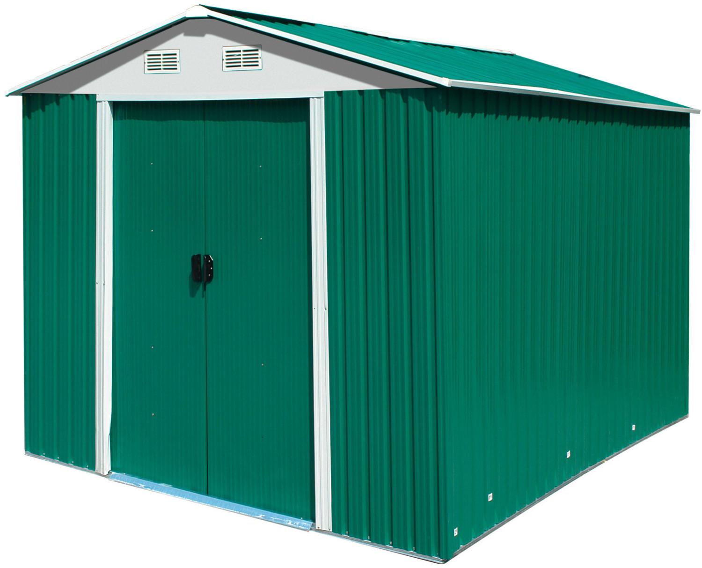 Dema Gerätehaus XL 257 x 205 cm grün