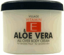 Village Vitamin E Aloe Vera Bodycream (500ml)