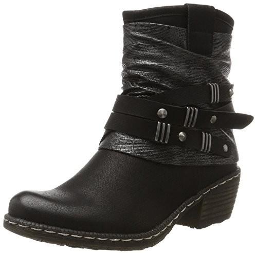 Rieker K1483 black/black/silver