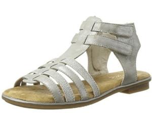Rieker Damen Sandale silber K0853 90