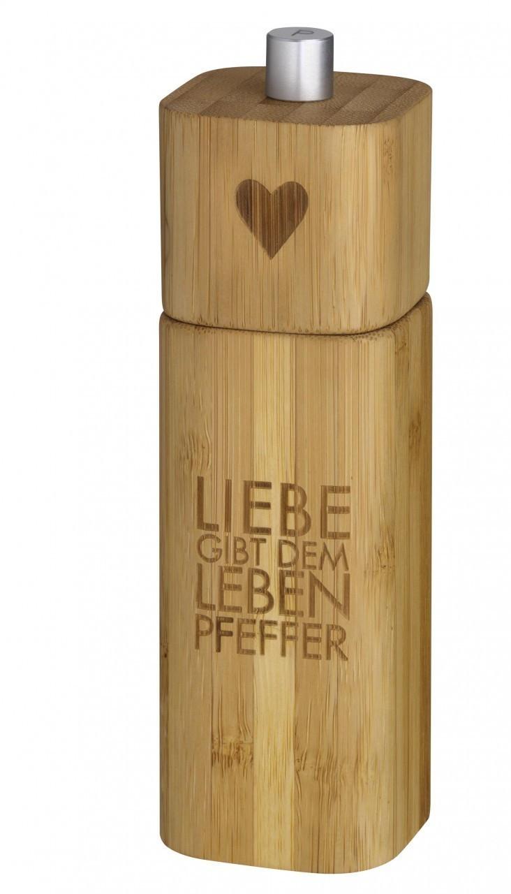 Räder Pfeffermühle 15 cm Liebe gibt dem Leben