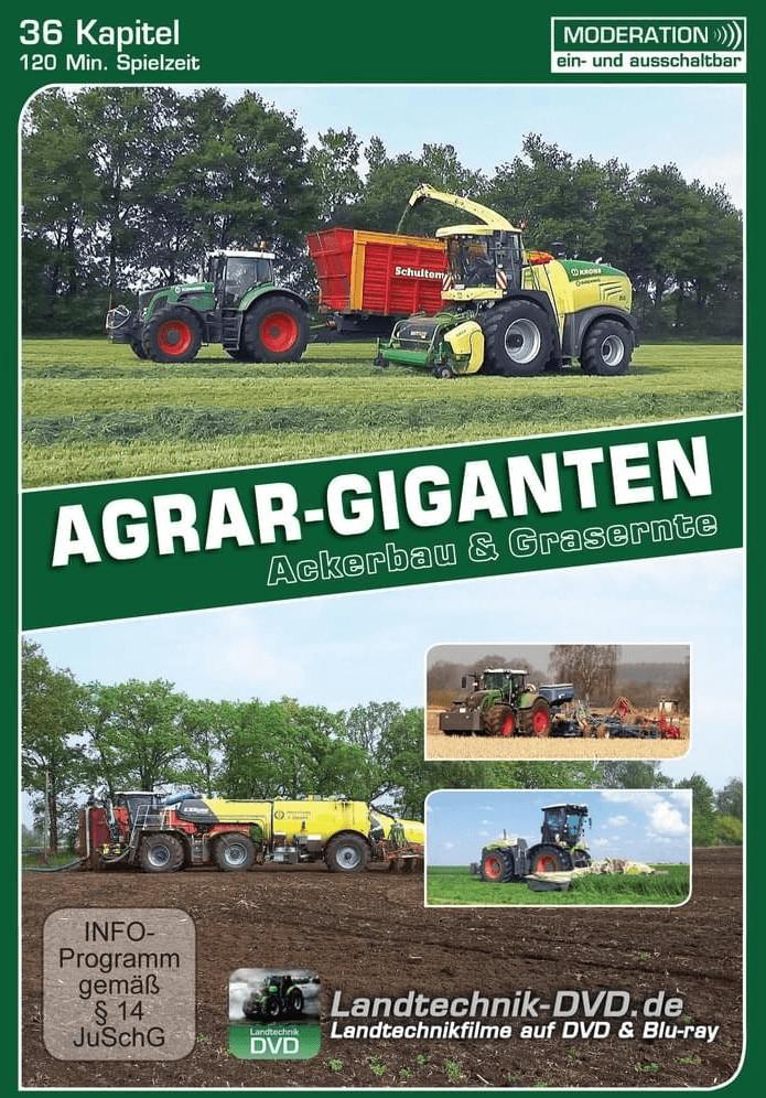 Agrar-Ggiganten - Ackerbau und Grasernte [DVD]