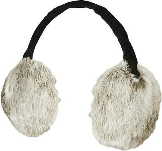 Barts Fur Earmuffs rabbit