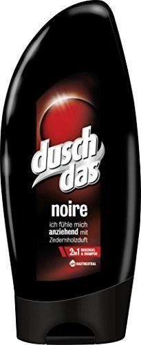 duschdas for Men Noire 2 in 1 Duschgel + Shampoo (6 x 250ml)
