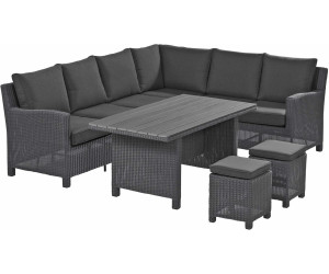 kettler palma corner set olive grey 0103336 4600 ab preisvergleich bei. Black Bedroom Furniture Sets. Home Design Ideas