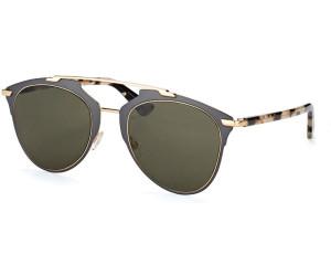 Christian Dior Damen Sonnenbrille Diorreflected NR 31Z, Grau (Ruthenium Havana/Brown Grey), 52