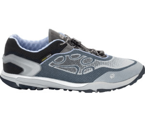 Jack Wolfskin Crosstrail Knit Low Grau, Damen Trailrunning- & Laufschuh, Größe EU 41 - Farbe Grey Haze Damen Trailrunning- & Laufschuh, Grey Haze, Größe 41 - Grau