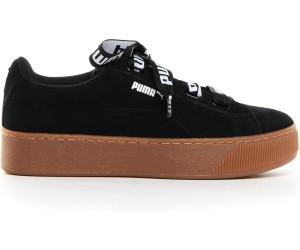 new lower prices on feet images of pretty cool Puma Vikky Platform Ribbon Bold W black/black ab 31,81 ...
