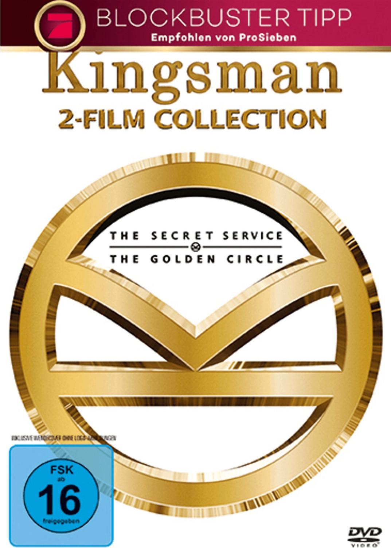 Kingsman 1+2 [DVD]