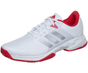 BARRICADE CLUB CLAY - Tennisschuh Outdoor - scarlet/matte silver/footwear white
