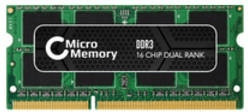 Image of MicroMemory 2GB SODIMM DDR3-1333 CL9 (MMDDR3-10600/2GBSO-128M8)