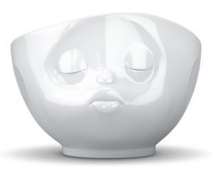 FIFTYEIGHT 3D Kussmund Gesichtertasse  500 ml weiß