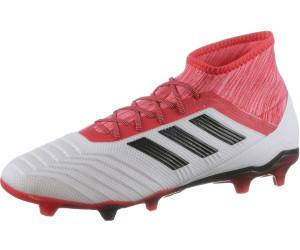 Adidas Predator 18.2 FG footwear whitecore blackreal coral