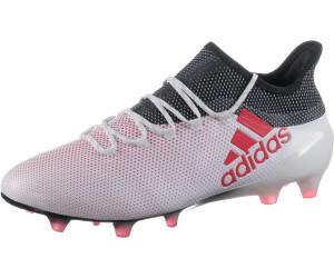 adidas X 17.1 FG Herren Fußballschuh Nockenschuh weiß rot
