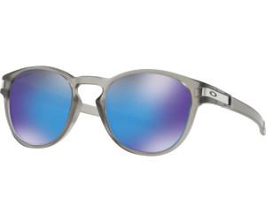 Oakley Herren Sonnenbrille Latch 926518, Schwarz (Matte Black/Prizmsapphirepolarized), 53