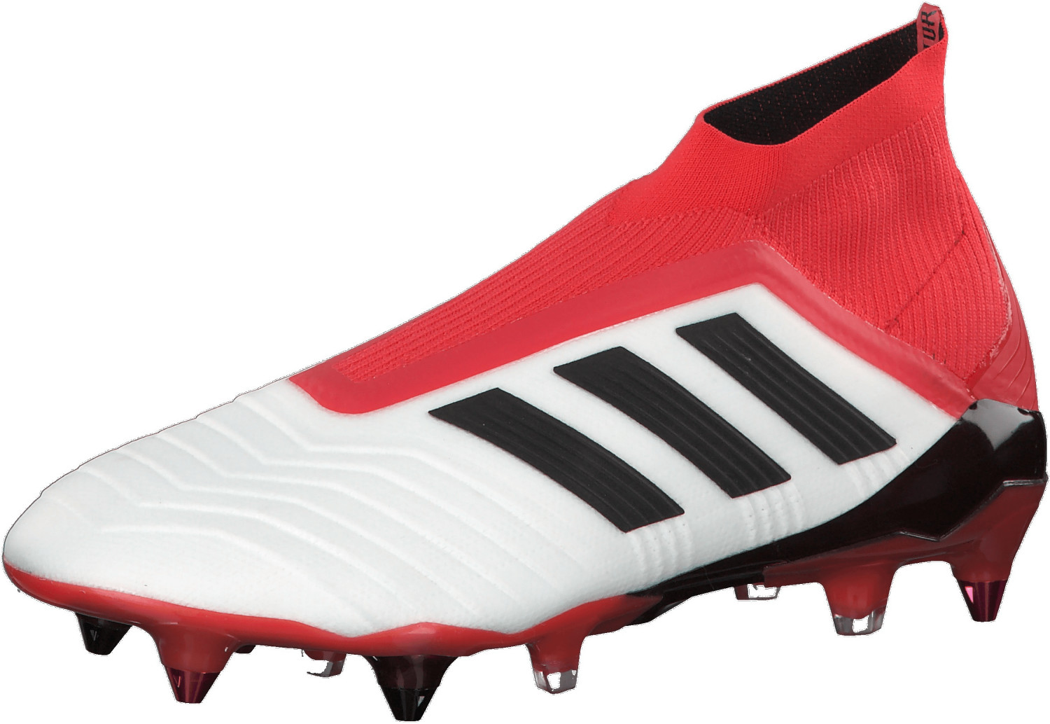 Adidas Predator 18+ SG footwear white/core black/real coral