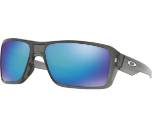 Oakley Herren Sonnenbrille »DOUBLE EDGE OO9380«, grau, 938006 - grau/blau