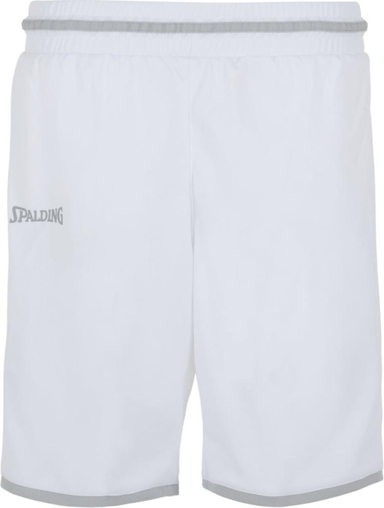 Spalding Move Shorts Women white/silver grey