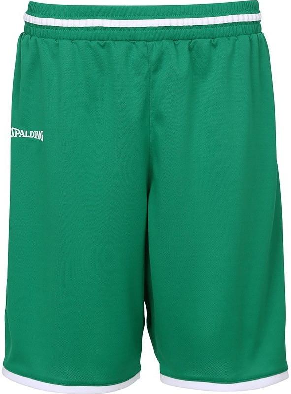 Spalding Niños Move Pantalones Cortos, Primavera/Verano, Infantil, Color Verde y Blanco, tamaño 140