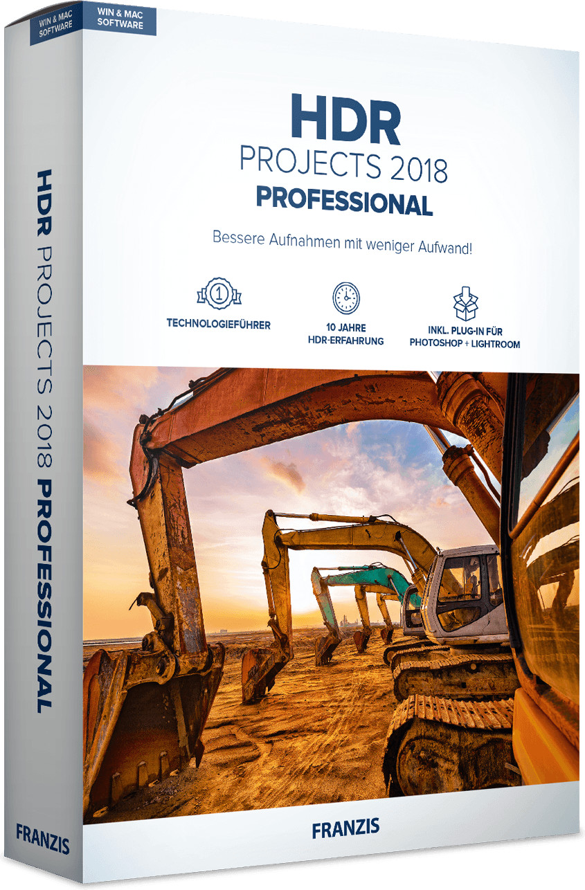 Image of Franzis HDR projects 2018 professional
