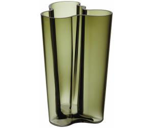 Alvar Aalto Vase Finlandia moosgrün 251 mm Iittala