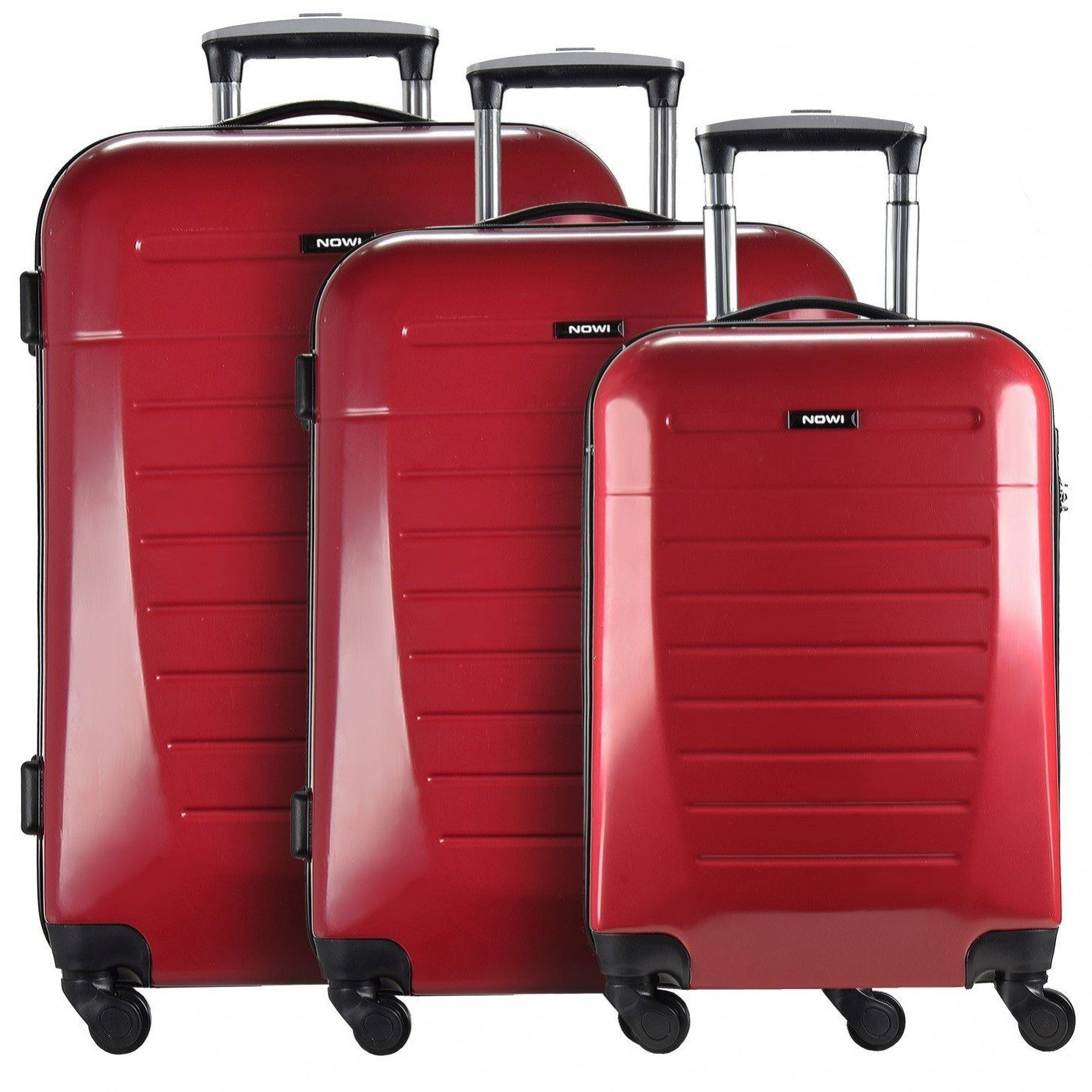 Nowi Malaga 4.0 Spinner-Set 55/65/77 cm red