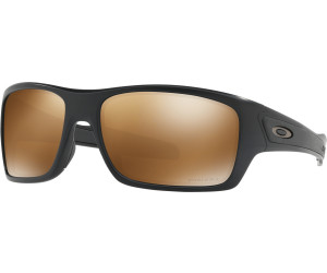 Oakley Turbine Prizm Polarized Sonnenbrille Schwarz PGCvu