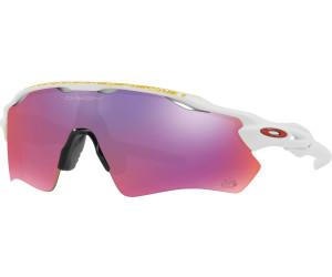 Oakley Herren Sonnenbrille Radar Ev Path 920850, Weiß (Matte White/Prizmroad), 38