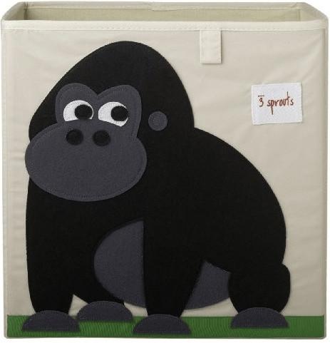 3 Sprouts Aufbewahrungsbox 33x33x33cm Gorilla