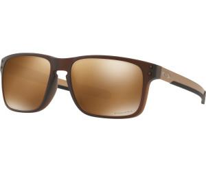 Oakley Holbrook Round Prizm Polarized Sonnenbrille Braun D5vCX