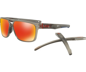Oakley Crossrange Patch Matte Grey Ink prizm ruby Herren Gr. Uni bRUnbhv