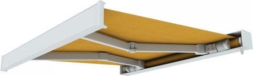 Paramondo Line 4x3 m weiß-gelb