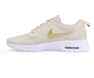 air max thea white and gold
