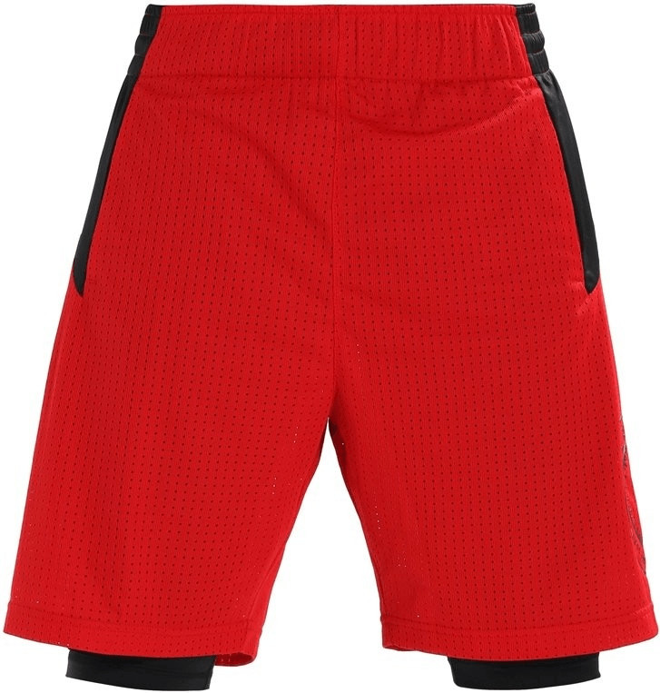 Adidas Dame Dolla Two-In-One Shorts scarlet