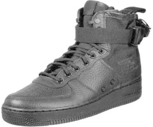 2dbf0febc2bad6 Nike SF Air Force 1 Mid black black black a € 129