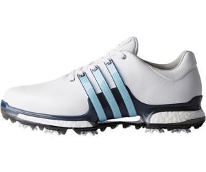 ADIDAS HERREN TOUR360 Boost Golf Schuhe Blanco Negro Rosa