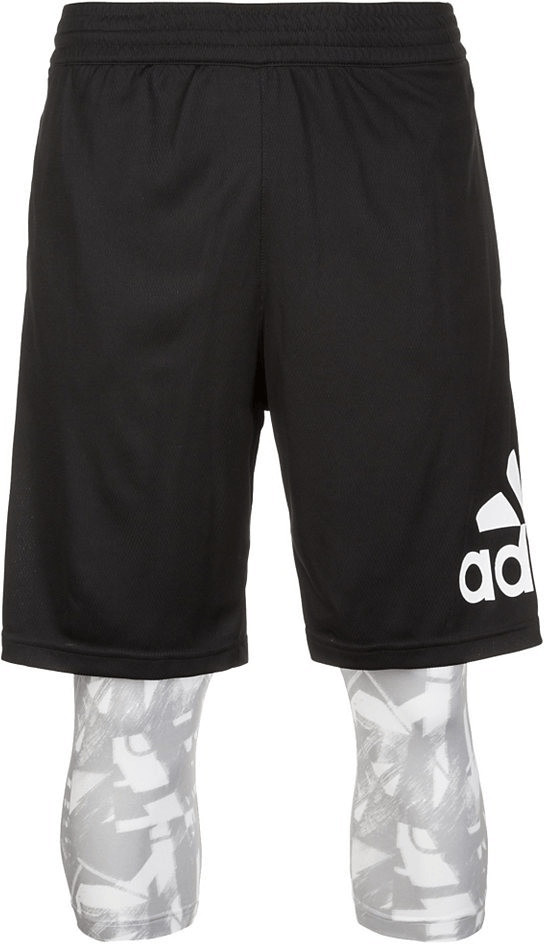 Adidas CrazyLight GFX Basketballshorts black/so...