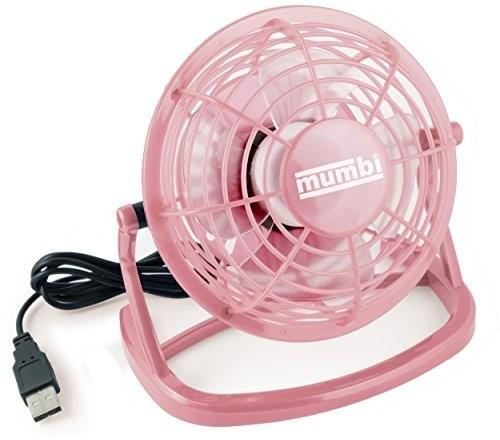 Mumbi USB Ventilator - Mini USB Fan rosa