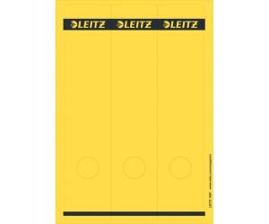 "75 Ordnerrücken-Etiketten Leitz 1687 /""Rot/"" 61,5 x 285 mm breit-lang"