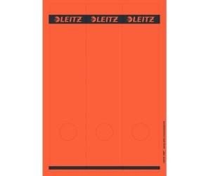 6 x 28 cm B x H Ordneretikett selbstklebend gelb 10 Etik.//Pack. breit//lang
