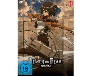 Attack on Titan – Box 2 (Ohne Aufnäher) [DVD]