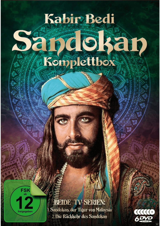 Sandokan Komplettbox - Der Tiger von Malaysia, ...
