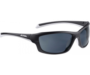 Alpina Sonnenbrille Amition Dyfer Outdoorsport-Brille, Black-Cyan, One Size