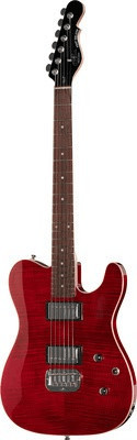 G&L Tribute Asat Deluxe TR Trans Red